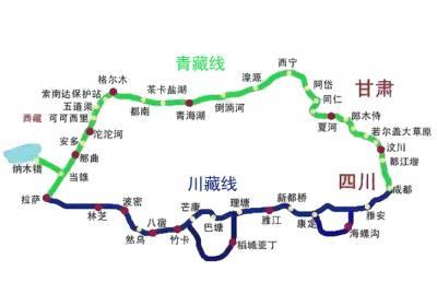 西藏自驾,走青藏线还是川藏线?